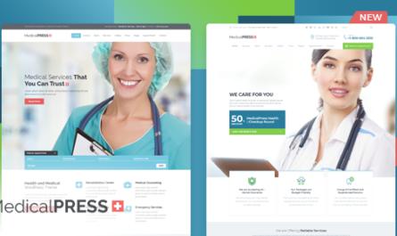MedicalPress v3.4.0 – Health and Medical WordPress Theme