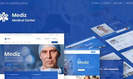 Mediz v2.0.3 – Medical WordPress