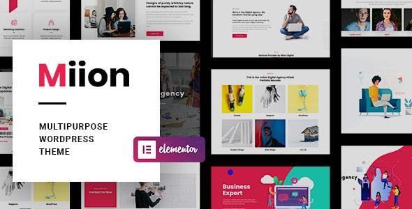 Miion v1.2.0 – Multi-Purpose WordPress Theme