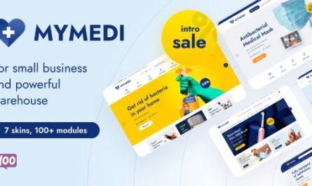 MyMedi v1.1.5 – Responsive WooCommerce WordPress Theme