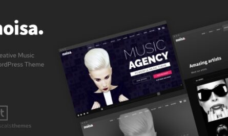 Noisa v2.5.6 – Music Producers, Bands & Events Theme for WordPress