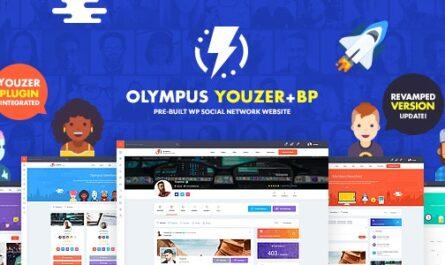 Olympus v3.20 – Powerful BuddyPress Theme for Social Networking