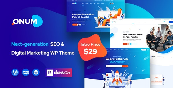 Onum 1.2.5 – SEO & Marketing Elementor WordPress Theme - WordPress Theme, Plugins, PHP Script, HTML Templates