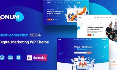 Onum v1.2.2 – SEO & Marketing Elementor WordPress Theme