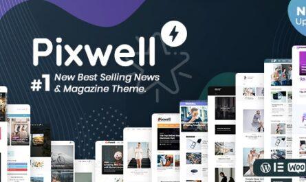 Pixwell v7.0 – Modern Magazine