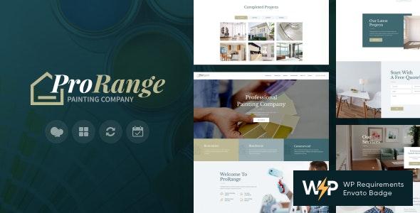 ProRange v1.5.1 – Painting & Renovation Construction Company WordPress Theme
