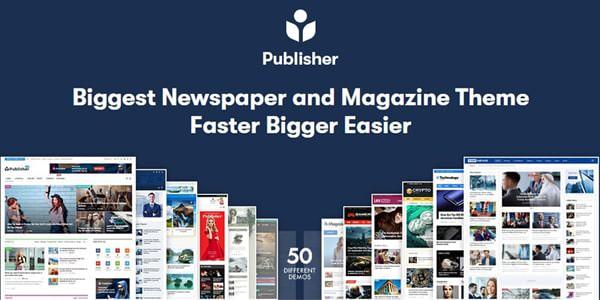 Publisher v7.10.0 rc3 – Newspaper Magazine AMP