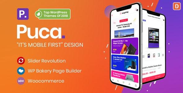Puca v2.2.11 – Optimized Mobile WooCommerce Theme