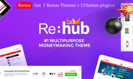 REHub v15.4.1 – Price Comparison, Business Community