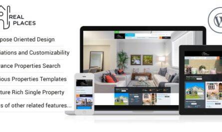 RealPlaces 1.9.2 – Estate Sale and Rental WordPress Theme -...