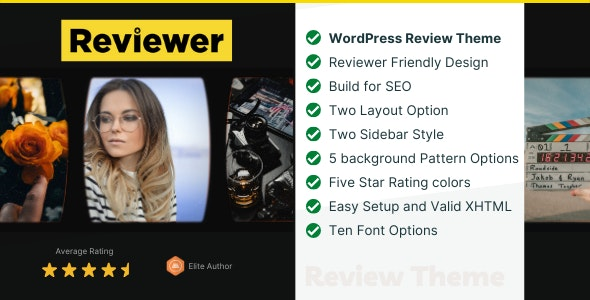 Reviewer v2.0 – WP Theme for Entertainment Reviews