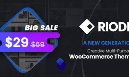 Riode v1.3.6 Nulled – Multi-Purpose WooCommerce Theme - WordPress Theme,