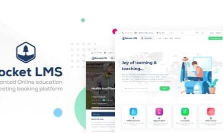 Rocket LMS 1.0 Nulled – Learning Management & Academy Script - WordPress Theme, Plugins, PHP Script, HTML Templates