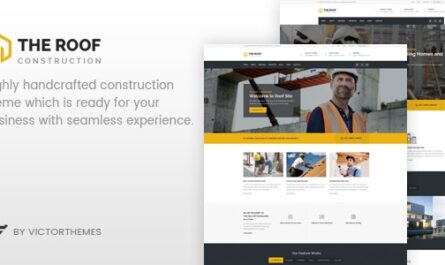 Roof v2.5.1 – WP Construction, Building Business