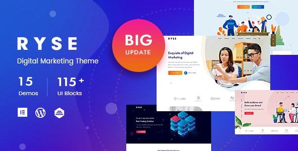 Ryse v3.0.1 – SEO & Digital Marketing Theme