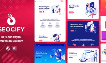 Seocify v2.5.0 – SEO And Digital Marketing Agency