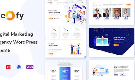 Seofy v1.5.20 – Digital Marketing Agency WordPress Theme