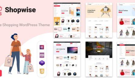 Shopwise v1.4.7 – Fashion Store WooCommerce Theme