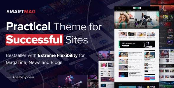SmartMag 5.4.0 – News & Magazine WordPress - WordPress Theme, Plugins,
