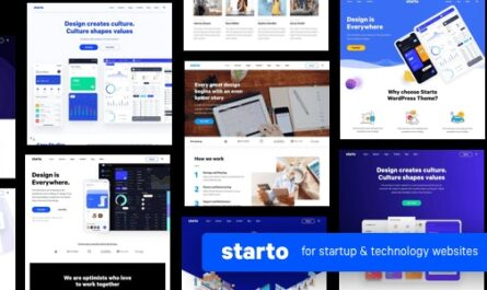 Starto v1.7.2 – Saas Software Startup WordPress