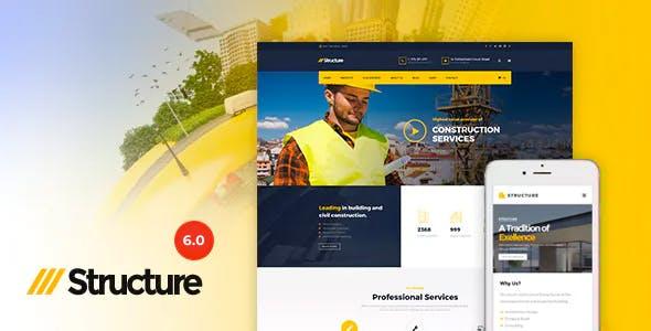 Structure v7.0.2 – Construction WordPress Theme