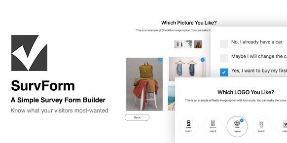 SurvForm Survey Form Builder Plugin For WordPress