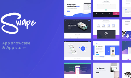 Swape v1.8.0 – App Showcase & App Store Theme