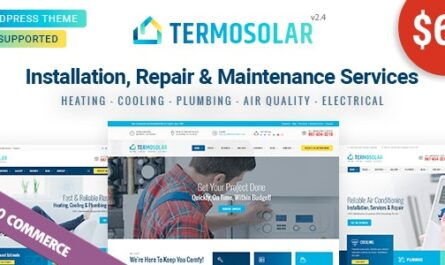 Termosolar v2.9 – Maintenance Services WordPress Theme
