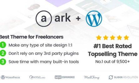 The Ark v1.54.0 – Freelancers WordPress Theme - WordPress Theme, Plugins,