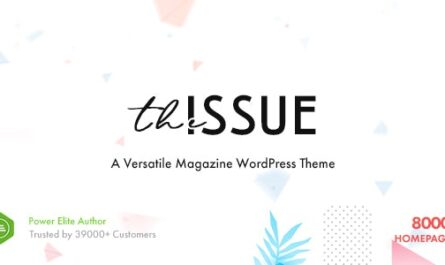 The Issue v1.6.4 – Versatile Magazine WordPress Theme
