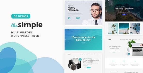 The Simple 2.7.2 – Business WordPress Theme - WordPress Theme, Plugins, PHP