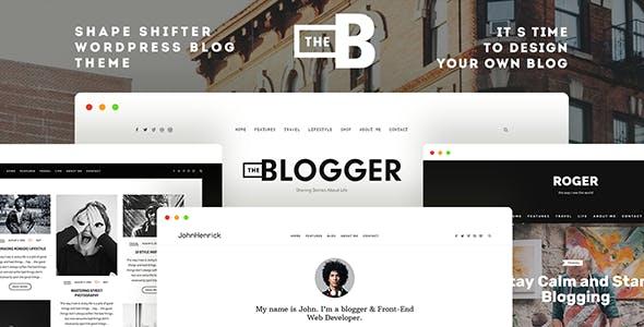 TheBlogger v2.1.2 – A WordPress Blogging Theme