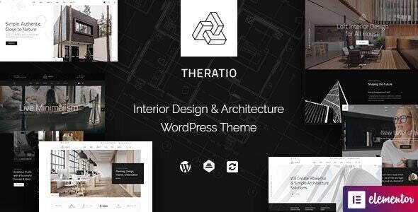 Theratio 1.1.6 – Architecture & Interior Design Elementor