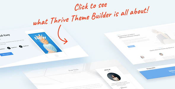 Thrive Theme Builder v2.6.2 Nulled (+Shapeshift Theme)