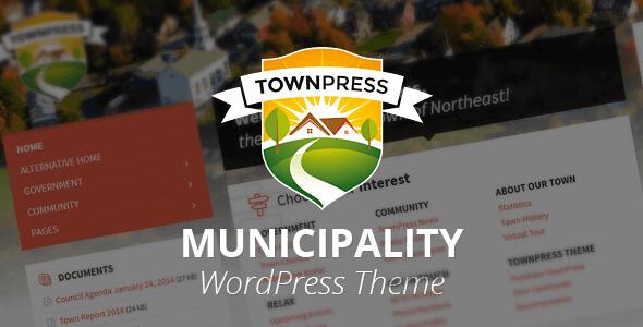 TownPress v3.6.10 - Municipality WordPress Theme - WordPress Theme,