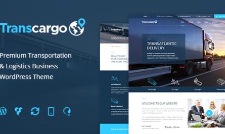 Transcargo v2.5 – Logistics & Transportation WP Theme