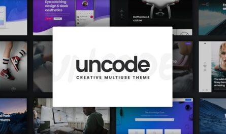 Uncode v2.3.6 – Creative Multiuse WordPress Theme