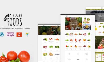 Vegan Food v5.2.21 – Organic Store, Farm Responsive Theme