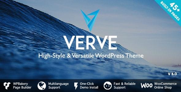 Verve v5.1 – High-Style WordPress Theme