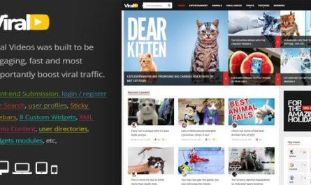ViralVideo 2.5 – Responsive Magazine WordPress Theme -...