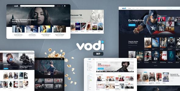 Vodi v1.2.5 – Video WordPress Theme for Movies & TV Shows
