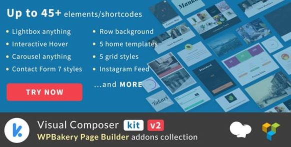 WPBakery Page Builder addons collection (formely Visual Composer)