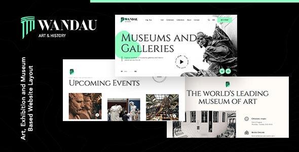 Wandau v1.0.0 – Art & History Museum WordPress Theme