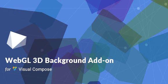 WebGL 3D Background For Visual Composer Free Download