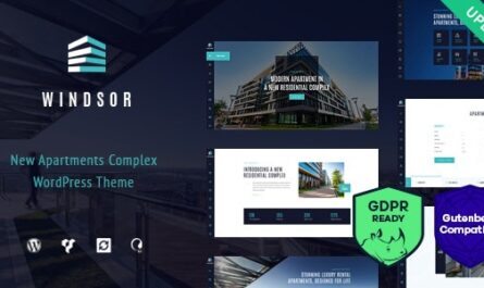 Windsor v1.8.5 – Apartment Complex / Single Property WordPress Theme