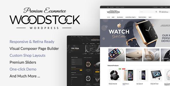 Woodstock 2.6.5 – Electronics Responsive WooCommerce Theme - WordPress
