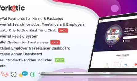 Worketic 2.9 – Marketplace for Freelancers - WordPress Theme, Plugins, PHP