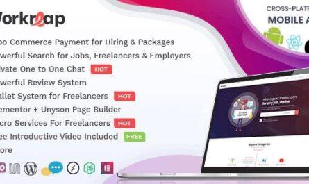 Workreap v2.2.5 Nulled free download – Freelance Marketplace WordPress Theme