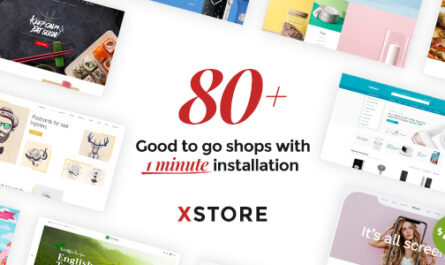 XStore Nulled v 8.0 | Responsive Multi-Purpose WooCommerce WordPress