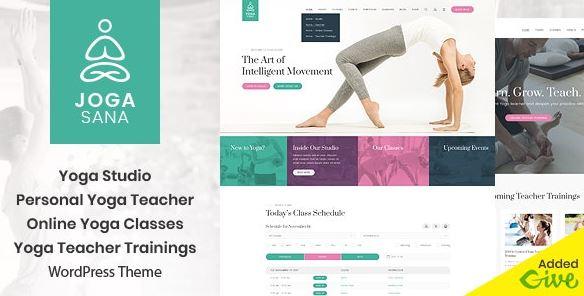 Yoga Oriented WordPress Theme v2.2